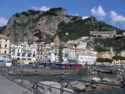 アマルフィ海岸、シチリア島、イスキア島、アッシジの春をめぐる旅 【18】 再びアマルフィ