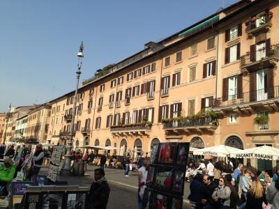 家族で行くローマ・パリ~よく歩きました その3ローマ滞在~スペイン広場まで