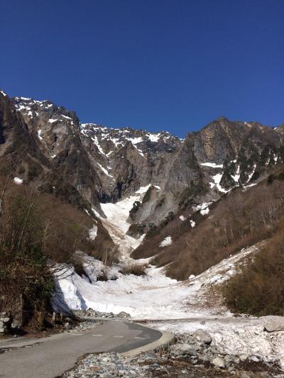 GW谷川岳 一ノ倉沢雪渓めぐりトレッキング