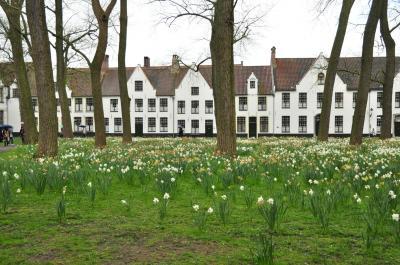 しっとり 春のヨーロッパを楽しもう! 7.ブルージュで中世に思いを馳せる