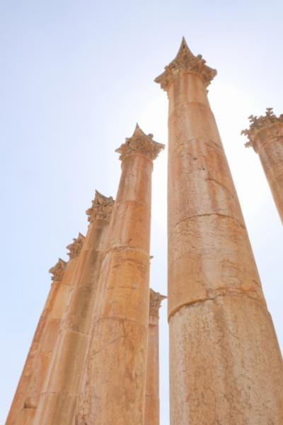 ヨルダン周遊 その1 ジェラシュ遺跡とアンマン市内観光