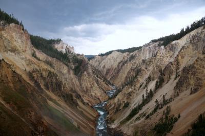 アメリカ 2つの国立公園へ 観光3日目イエローストーン国立公園アッパーループ編