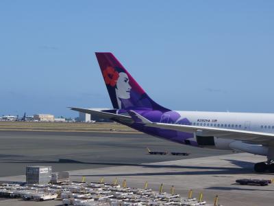 2014 プリンセスカイウラ二滞在ハワイ旅行記(乗り物編:今回はハワイアン航空ビジネス)