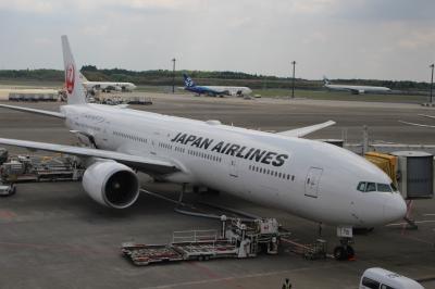 日本航空 ファーストクラス搭乗記 成田~シカゴ JAPAN AIRLINES・JAL・JL-10 (2014/GW シカゴ・マイアミ①)