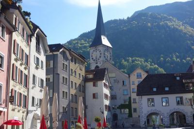 ☆山に抱かれた美しい街を歩こう!☆ 2014年GW チューリッヒから日帰りの旅 10 (スイス最古の町クール)