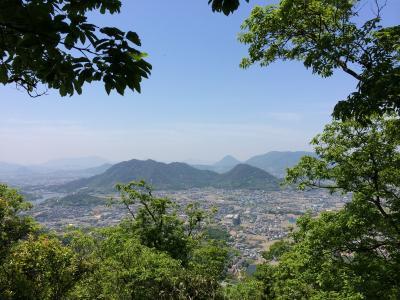 六ツ目山と伽藍山に登ってきた