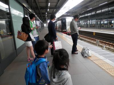 4日曜セントレアまで見送りは計らずも往復ともポケモン電車