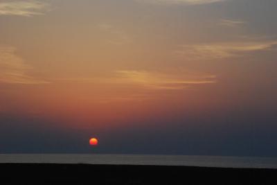 トワイライトエクスプレスで日本海の黄昏を満喫