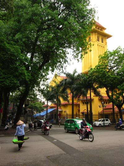 2014ベ トナム・ハノイ 古の都・旧市街ぶらぶら歩き暇つぶしの旅-1