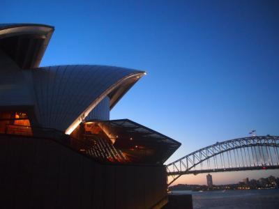 オーストラリア(3)着衣でオペラハウス
