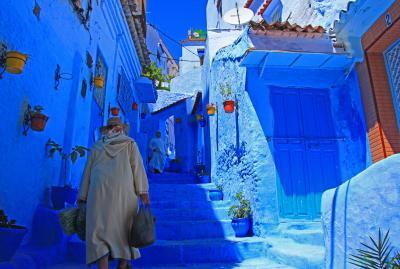 GW次なる絶景を求めてモロッコへ(青の町シャウエン編)