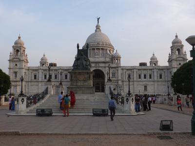 コルカタ(インド博物館、ビクトリア記念堂、マイダン公園)