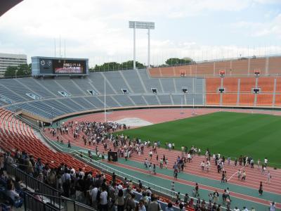 SAYONARA国立競技場 スタジアムツアー 最終日