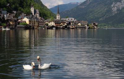 オーストリア旅行 世界遺産の眺望 ハルシュタット (Hallstatt)