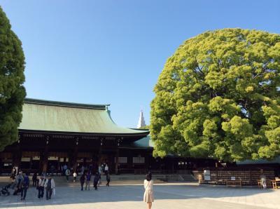 明治神宮と東郷神社とレストランアイ