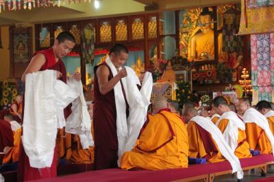北インド聖地巡礼の旅(4)~ダラムサラ・ギュト僧院~