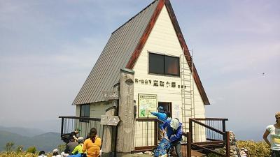 2014 氷ノ山登山と天滝でキャンプ