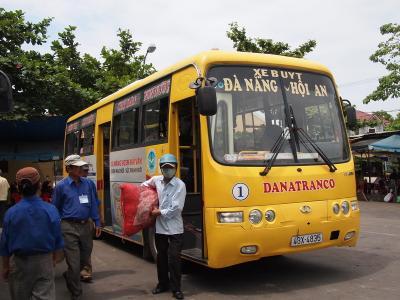 ■Da Nang ~ Hoi An 循環バスに乗る