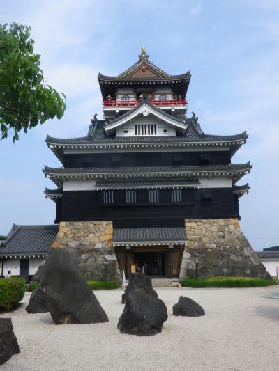 愛知・清州城を見物