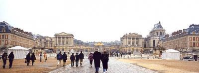2001年 ヨーロッパ3カ国周遊ツアー(9 days) =ベルサイユ宮殿=
