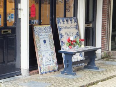 オランダ一人旅(8日目:デルフト散策とシンゲルの花市で球根購入)