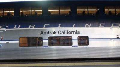 アムトラックで移動 アメリカ一人旅 1 国内出発からロサンゼルス・パシィフィックサーフライナーでサンジエゴ・翌日サウスウェストチーフ乗車1日目