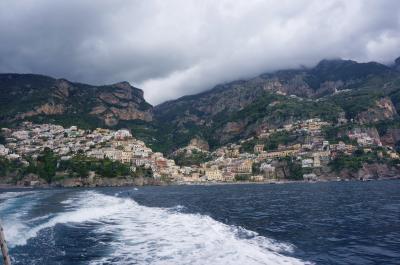 個人旅行のパリ・イタリア16日間《10日目》  ~ポジターノからアマルフィへ~