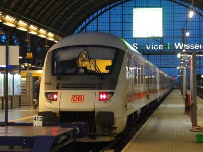 ドイツ鉄道博物館めぐり 1日目・NRT→FRA