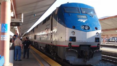 アムトラックで移動 アメリカ一人旅 2 サウスウェストチーフ乗車2日目からシカゴ