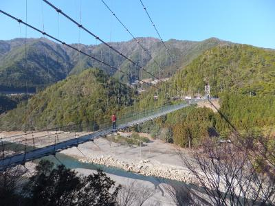 2014 日本最長路線バスと京都・北陸18きっぷの旅【その5】日本一の吊り橋