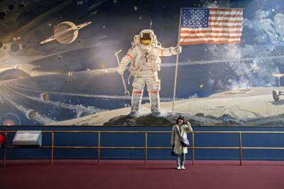 ワシントンDC 2014 National Air and Space Museum  国立航空宇宙博物館