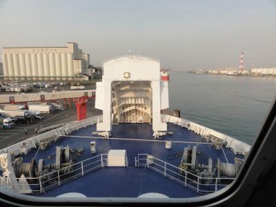 太平洋フェリー 「いしかり」苫小牧-名古屋の旅③