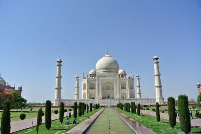 【2014.04 インドの旅】Part4 まったりタージマハル