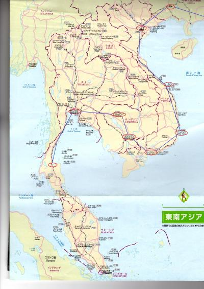 東南アジア&南インドフラフラ旅日記2014(16)バンコク→スラーターニー