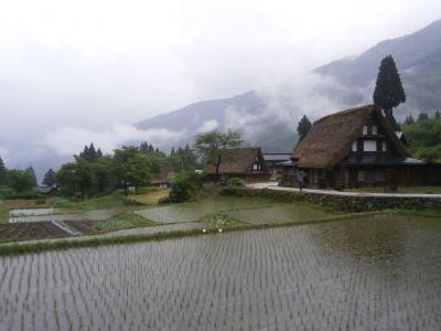思いつき富山県の西側のドライブ旅