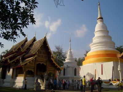 2006年12月-2007年1月 タイ国際航空で行く タイ・チェンマイの旅(前編)