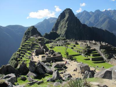 2014年 南米世界遺産紀行 その12 マチュピチュ自由散策 前偏 太陽の神殿、皇帝の部屋、主神殿、インティワタナ