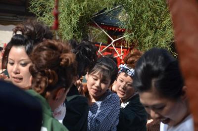吉原祇園祭 2014.06.14-15 =2.女神輿=