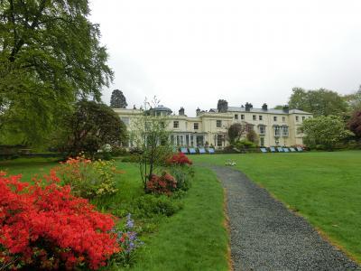 新緑の英国 ⑦4/30 湖水地方  Storrs Hall Hotel