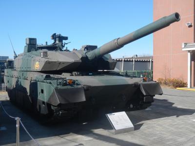 10式戦車、東京大仏、縁切り榎など…朝霞、(和光)板橋を走る