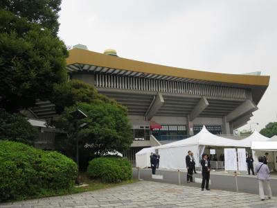日本武道館へ(2014.06.18)