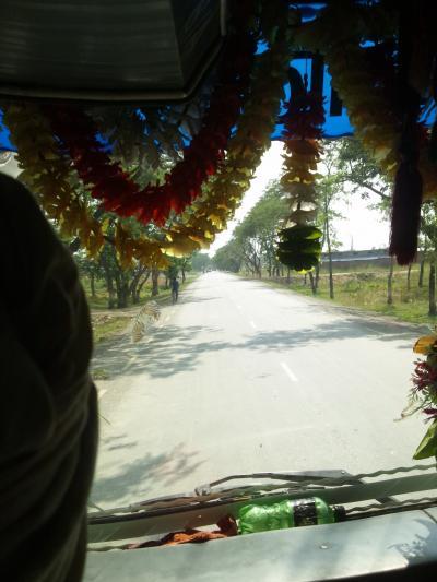 ネパールの旅 バス移動 ルンビニ その10