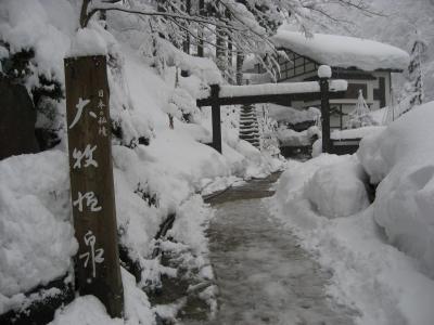 2011☆雪の大牧温泉 in 富山