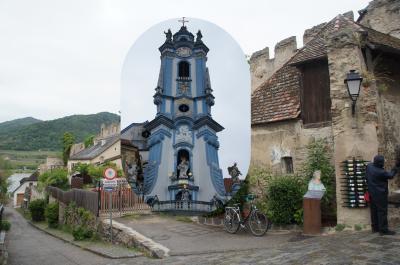 ヴァッハウ渓谷のメルヘンの町デュルンシュタイン