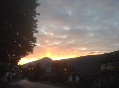 ジジ・ババ チロルの旅ー本命のフルプメス・早朝散歩ー