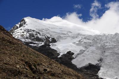 7days in Tibet14★ナンカルツェ★カローラ峠から氷河をのぞむ