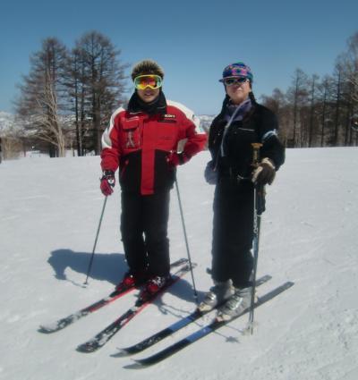 野沢温泉スキー場(二日目)