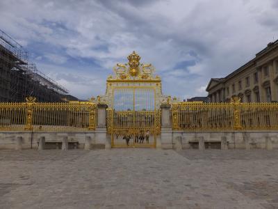 ヨーロッパ5ヶ国周遊とバンコク 1 ベルサイユ到着編 2014年6月7日
