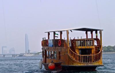 Stay at 38 hours Dubai ドバイ街歩き (ドバイ・クリークでクルーズを楽しんだ後はオールド&ゴールドスーク巡りを!)