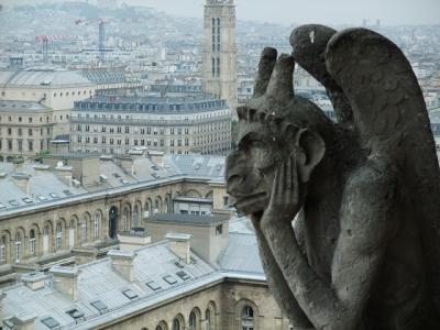 ヨーロッパ周遊(パリ→ローマ→フィレンツェ→ヘルシンキ) ①パリ